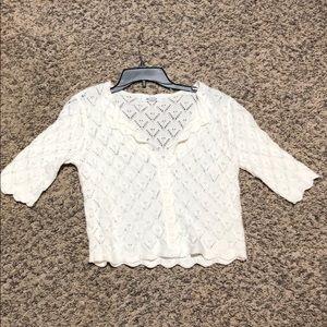 BB Dakota Button Up Sweater